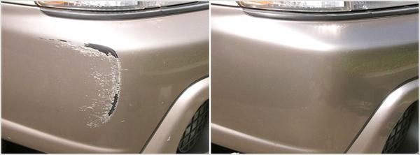 Auto Paint Touch Up >> Bumper Scuff, Scratch, Dent Repair